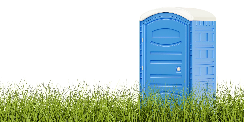 שירותים כימיים על הדשא