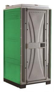 שירותים ניידים דגם קיוב ירוק